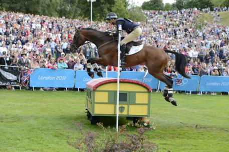 Mark Todd (NZ) on Campino 2012 London Olympic Games