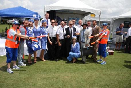 The Pan Am Tailgate at the 2013 International Gay Polo Tournament.Photo by Christian Palmer