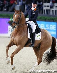 Adelinde Cornelissen and Parzival (Photo © Astrid Appels - Eurodressage.com)
