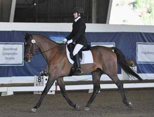 Dena Pate and Imagine That at 2011 CPEDI3* Dressage Affaire