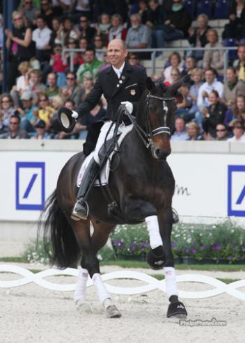 Steffen Peters and Ravel will go head to head with Mathias Rath at the World Dressage Masters Palm Beach 2012, meeting for the first time since their close result at Aachen 2011. (photo: phelpsphotos.com)