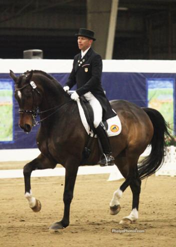 Steffen Peters and Legolas 92 - Winner of the National Grand Prix Title at the USEF Dressage Festival of Champions (Photo: Phelpsphotos.com)