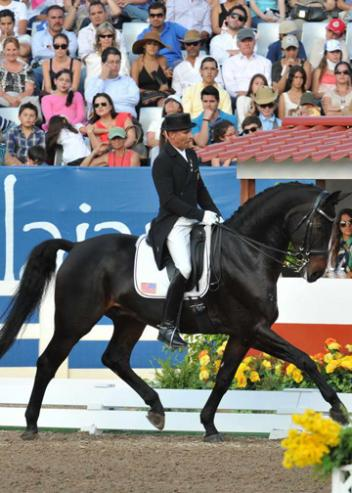 Individual Gold medalist at The 2011 Pan American Games - Steffen Peters and Weltino's Magic (Photo: Diana De Rosa)