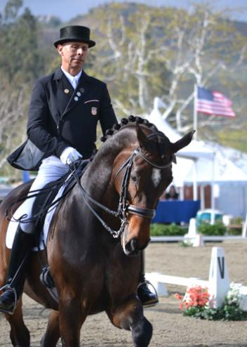 "Steffen Peters & ""Legolas 92"" once again passaged to victory in the Olympic Grand Prix Special (75.933%) at the Festival of the Horse CDI 3* Presented By HorseShow.com. (Photo: Jennifer M. Keeler)"