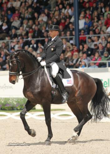 Steffen Peters and Ravel in 2011 at Aachen CHIO, Germany