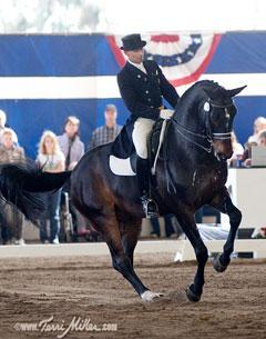 Steffen Peters and Ravel Dominate the Grand Prix Division at the 2010 Dressage Affaire in Del Mar CaliforniaCredit: terrimiller.com