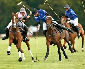 The French player Edouard Pan (in blue)- Team La Quinta.© R&B Presse/P.Renauldon