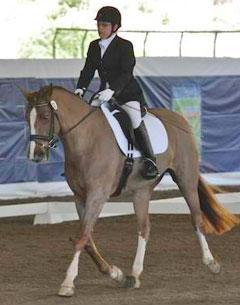 Donna Ponessa and Otto at the 2011 Dressage Affaire CPEDI3*