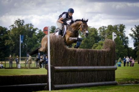 Rebecca Howard and Riddle Master take 12th at the prestigious CCI 4* Land Rover Burghley Three Day Event held September 5-8 in Stamford, GBR. Photo credit - StockImageServices.com