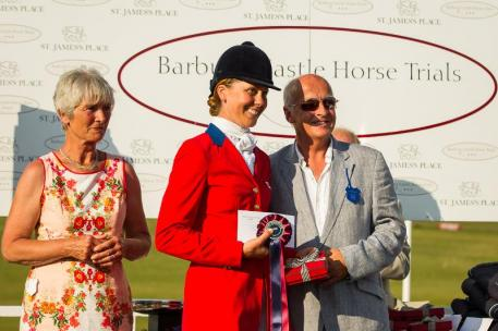 Rebecca Howard - CIC3*, FINAL-3RD, 2013 GBR - Barbury Castle International Horse Trial (Sunday 7 July)  LIBBY LAW PHOTOGRAPHY - NZL