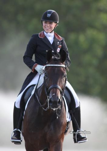 Emerging Dressage Athlete graduate Brandi Roenick won individual Gold at the 2012 North American Young Riders' Championships