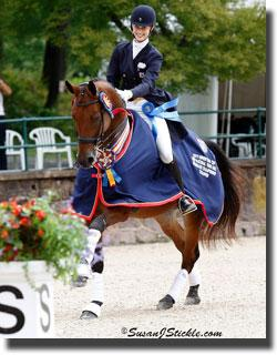 Caroline Roffman and Beemer (Photo: SusanJStickle.com)