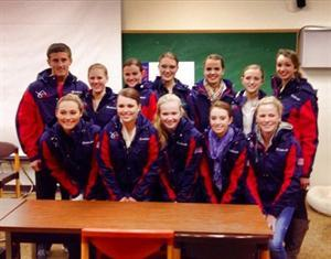The 2014 U.S. Saddle Seat World Cup Team