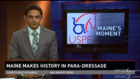 Para Equestrian Symposium Makes the News - Click on this image to watch the video
