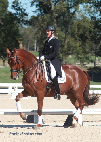Guenter Seidel and Coral Reef Wylea (Photo: Mary Phelps)