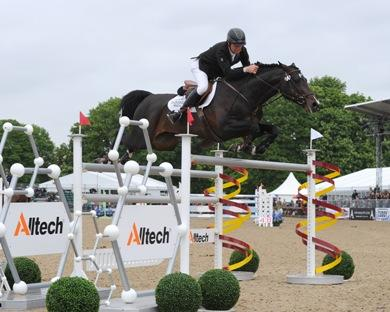 Irishman Shane Breen and his mount Balloon captured the Alltech Grand Prix during the Royal Windsor Horse Show May 12.