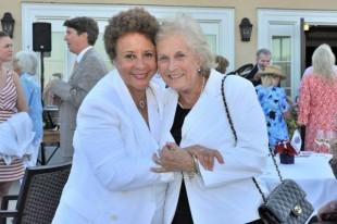 Sheila Johnson and Peggy Arundel