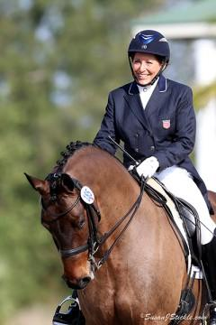 Shelly Francis will represent the U.S. at the Aachen CDIO5* on Patricia Stempel's Doktor and Danilo (Photo: SusanJStickle.com)