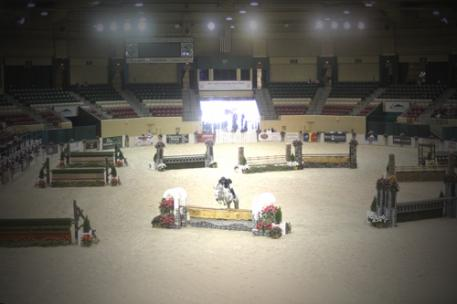 The Show Place Arena offers one of the best indoor horse show environments in the United States. Photo © Jennifer Wood Media, Inc.