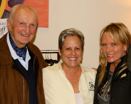 Laura King flanked by November Shop Talk speakers Walter Zettl and Linda Parelli. King will share her insights at ShowChic January 8th at 6:30 PM
