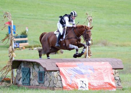 Sinead Halpin and Manoir De Carneville win Plantation Field International CIC3*. Photo credit: Jenni Autry.