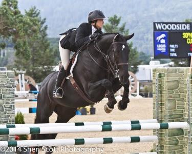 Sophie Verges enjoys success in hunters, jumpers, and equitation. Photo: Sheri Scott