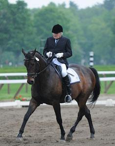 Martin Sosnoff with Sirocco (Photo: Reflections Photography Inc)