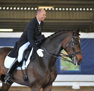 Steffen Peters with Legolas 92 (Photo: Lindsay McCall for HorseGirlTV.com)