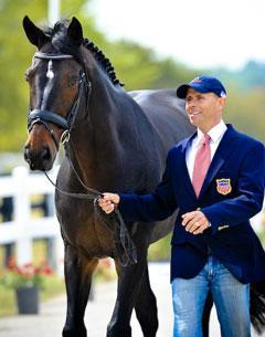 Steffen Peters and Ravel. (Photo by Sara Lieser)