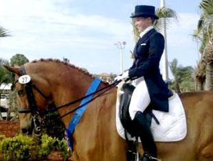Geena Sturzebecher and Korrado sweep Young Rider Division at the WEF Dressage Classic