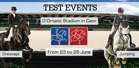 The Jumping and Dressage tests events for the Alltech FEI World Equestrian Games™ 2014 in Normandy will take place from 23 to 26 June at the d'Ornano Stadium in Caen (FRA)