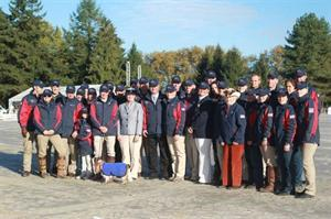 The U.S. Team (Marie de Ronde/USEF Archive)
