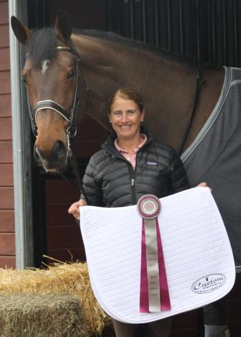 Custom Saddlery recognized top Swedish rider Tinne Vilhelmson-Silfvan with its Most Valuable Rider (MVR) Award at the Florida Dressage Classic CDI of the Adequan Global Dressage Festival