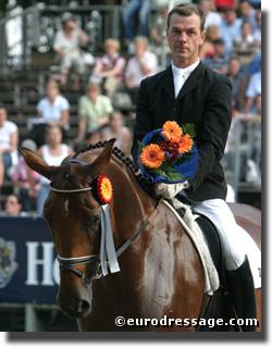 Dr. Ulf Moeller will clinci at GoodNess Ridge Farm in Mt. Airy, MD (Photo: Astrid Appels for Eurodressage.com)