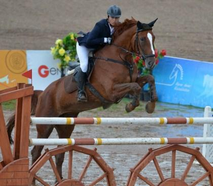 Uzbekistan's Umit Kamilov claimed Individual gold at the FEI Central Asia Jumping Championships 2013 in Astana, Kazakhstan last weekend.