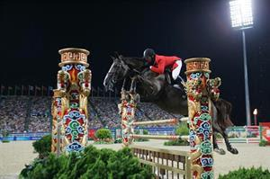 McLain Ward and Sapphire at the 2008 Olympic Games (Photo: Bob Langrish)