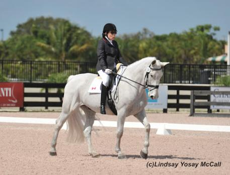 Jody Schloss and Inspector Rebus at the AGDF in Wellington, FL (Photo: Lindsay Y McCall)
