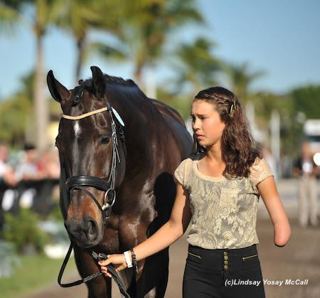 Elizabeth Traband (USA) and Ucari, owned by Helene Bergstrom. (All Photos: by Lindsay McCall)