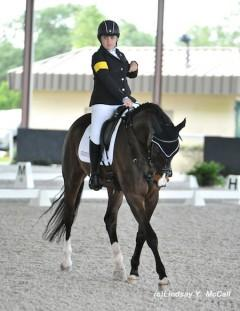 Sydney Collier (USA) Grade Ib and NTEC Cuplee, owned by Patricia Mendenhall.
