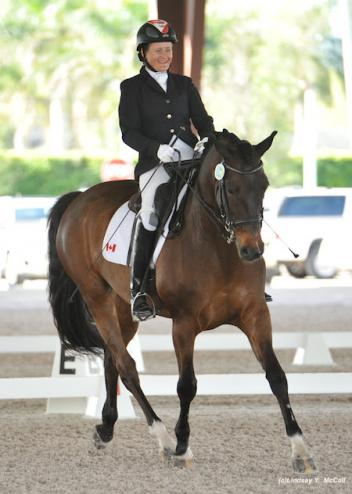 Lauren Barwick (CAN) Grade II and Ferdonia 2.