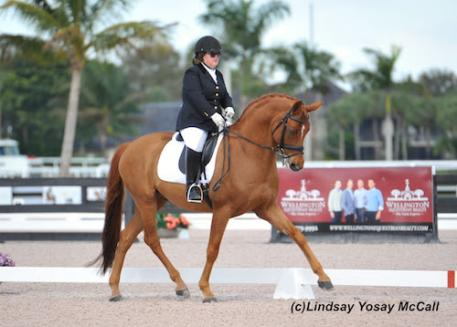 Ellie Brimmer and London Swing at AGDF in Wellington, FL. (Photo: Lindsay Y McCall)