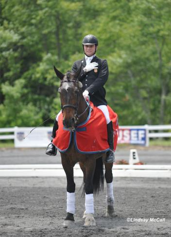 2012 USEF Para-Equestrian Dressage Selection Trials for the London Paralympics/ National Championship. Photo is of Jonathan Wentz and NTEC Richter Scale at the USET Foundation Headquarters in Gladstone, NJ. (Photo: Lindsay Y. McCall)