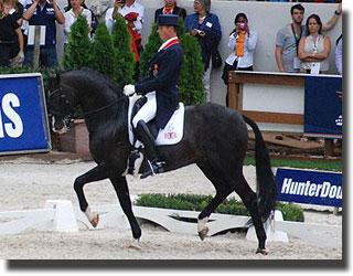 Silver for Carl Hester and Uthopia