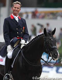 Carl Hester and Uthopia (Photo: © Astrid Appels for Eurodressage.com)