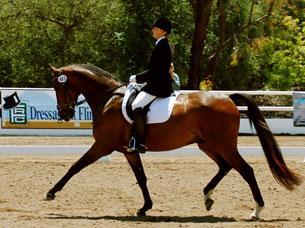 Sherry Van't Riet and Sir Deauville