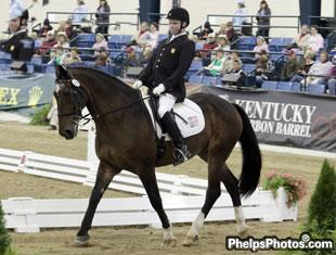 Jonathan Wentz, the youngest U.S. rider at 19