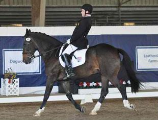 Jonathan Wentz and NTEC Ritcher Scale at 2011 Dressage Affaire CPEDI3*