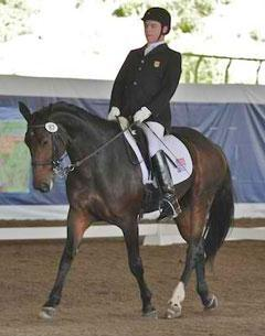 Jonathan Wentz and NTEC Daytona Beach at 2011 CPEDI3* Dressage Affaire