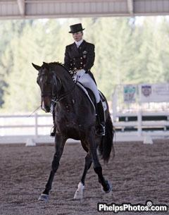 Lisa Wilcox and Horse Unlimited's Pikko del Cerro HU.