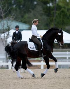 Lisa Wilcox and Horses UnLimited's Pikko del Cerro HU Credit: Sharon Packer